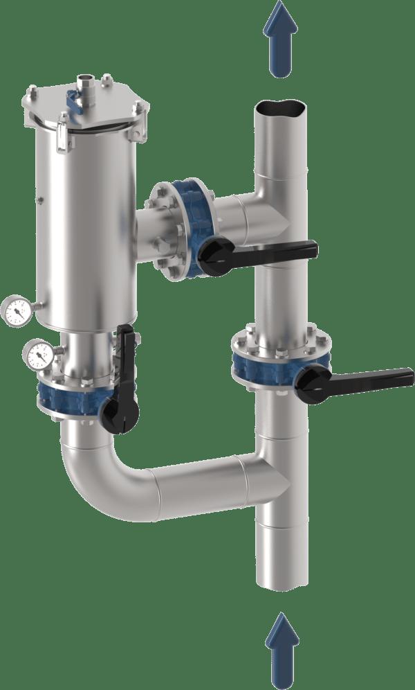 Simplex Filter Strainer